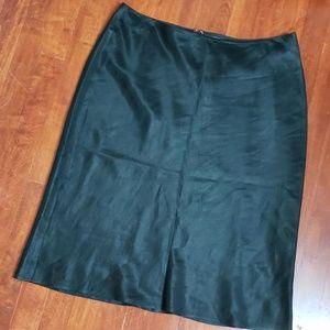 Banana Republuc Satiny Skirt-Size 14